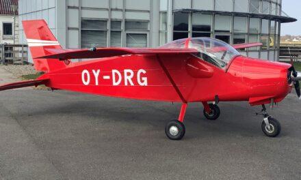 Nyt Klubfly i BMK OY-DRG!